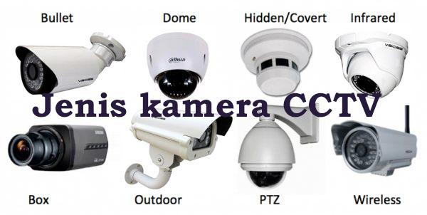 Mengenal Jenis Kamera CCTV dilengkapi dengan Spesifikasinya