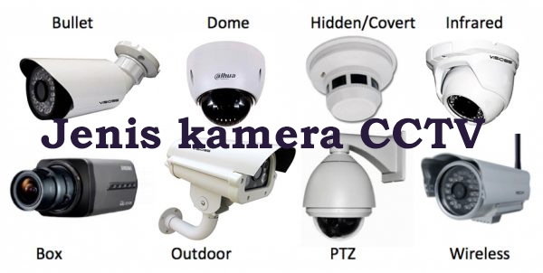 Mengenal Jenis Kamera CCTV dilengkapi dengan