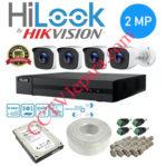 Paket 4 Kamera CCTV Hilook